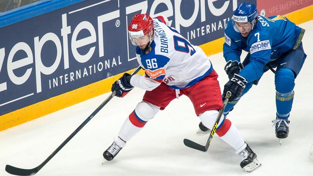 Gastgeber Russland müht sich zum ersten Sieg (Bild: GEPA)