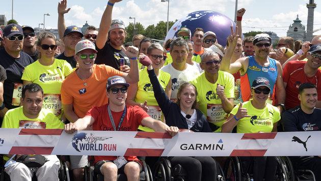 Italiener läuft bei Worldrun 88,44 Kilometer! (Bild: APA/HANS PUNZ)