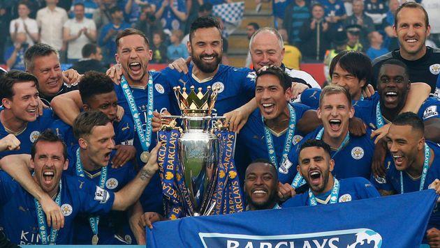 Leicester City: Meisterfeier mit Andrea Bocelli (Bild: AFP)