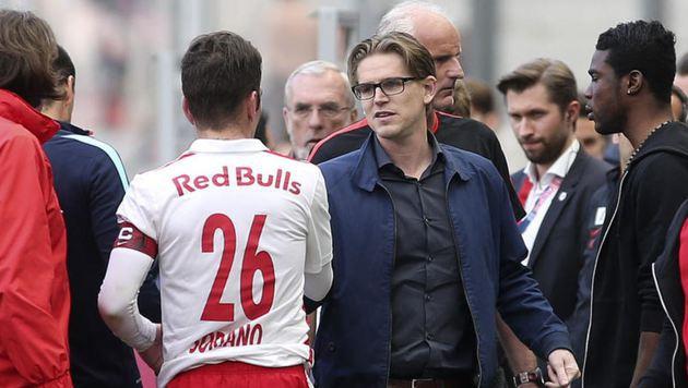 Die Europacup-Quali-Chancen sind auch vom Transfer-Geschick von Christoph Freund (re.) abhängig. (Bild: Andreas Tröster)