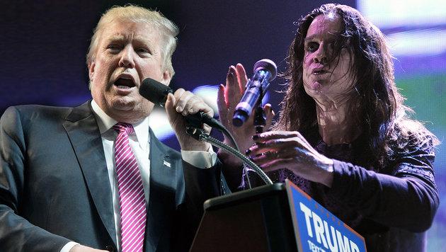 """Ozzy Osbourne: """"Trump ist der nächste Hitler"""" (Bild: AFP/Brendan Smialowski, APA/EPA/HERBERT P. OCZERET)"""