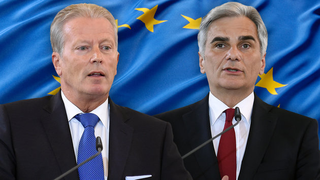 "Regierung warnt vor ""Auseinanderbrechen Europas"" (Bild: APA/HERBERT P. OCZERET, thinkstockphotos.de)"