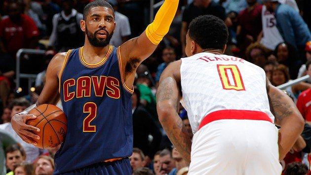 Cleveland Cavaliers als 1. Team im NBA-Halbfinale (Bild: APA/AFP/GETTY IMAGES/Kevin C. Cox)