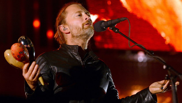 Radiohead veröffentlichten neues Studioalbum (Bild: Britta Pedersen/EPA)