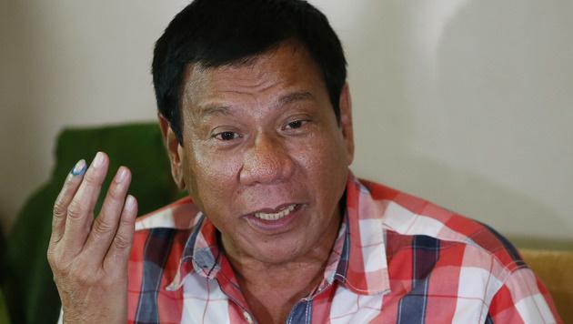 Rodrigo Duterte (Bild: AP)