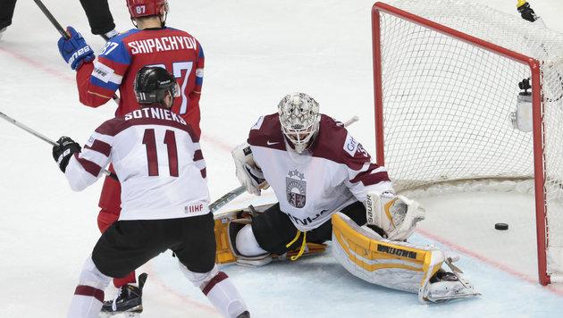 Russlands spezieller Sieg, Tschechien dreht Partie (Bild: AP)