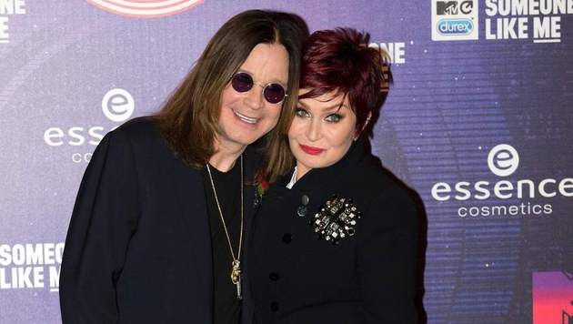 Ozzy und Sharon Osbourne (Bild: APA/AFP/OLI SCARFF)