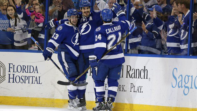 Tampa Bay stürmt ins Finale der Eastern Conference (Bild: APA/AFP/GETTY IMAGES/Mike Carlson)