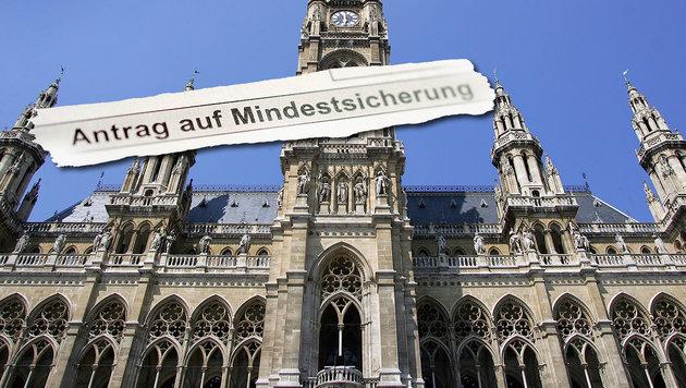 Wien zahlt 290 Millionen Euro für Flüchtlinge (Bild: APA/HANS KLAUS TECHT, APA/BARBARA GINDL)