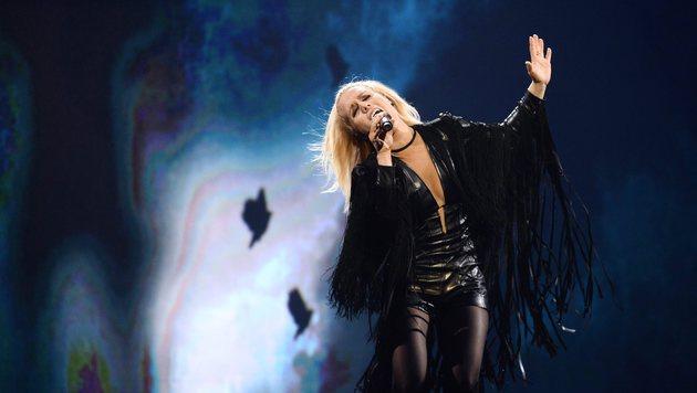"""Island setzt auf Greta Salome und ihren Song """"Hear Them Calling"""". (Bild: APA/AFP/TT News Agency/MAJA SUSLIN/TT)"""