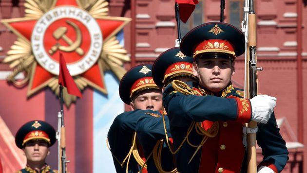 """Arte zeigt russischen """"Propagandafilm"""" nicht (Bild: APA/AFP/KIRILL KUDRYAVTSEV, Symbolbild)"""