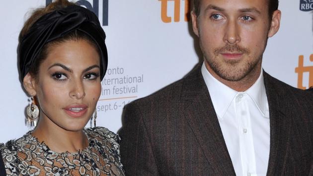 Eva Mendes und Ryan Gosling (Bild: EPA)