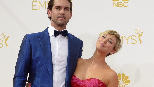 Kaley Cuoco und Ryan Sweeting (Bild: APA/EPA/PAUL BUCK)