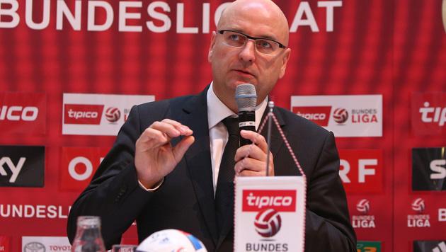 """Liga-Boss Rinner: """"12 + 16 ist die beste Variante"""" (Bild: GEPA)"""