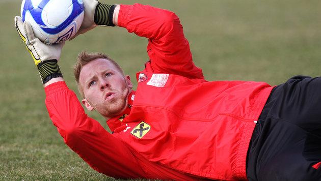 Lukas Königshofer verlässt Halleschen FC (Bild: GEPA)
