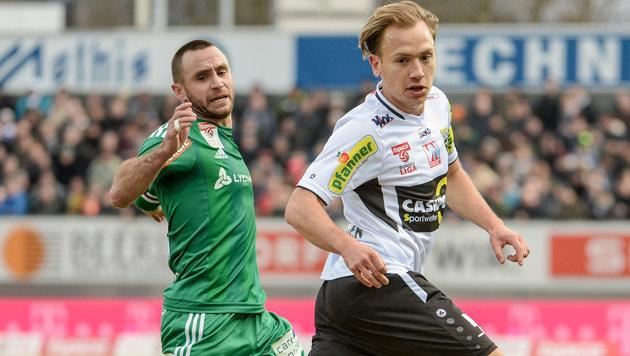 Rapid hofft bei Happel-Stadion-Abschied auf Sieg (Bild: GEPA)