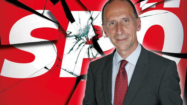 Rote Turbulenzen: Die zerrissene Sozialdemokratie (Bild: Kornen Zeitung, Martin A. Jöchl)