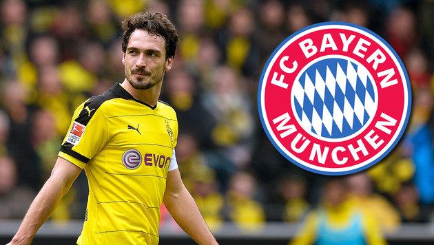 Transfer perfekt! Mats Hummels zum FC Bayern (Bild: APA/AFP/SASCHA SCHURMANN)