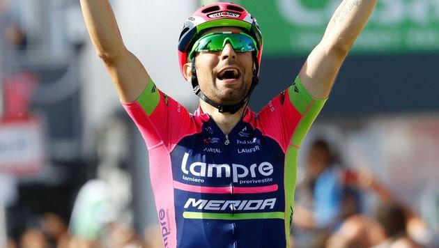 Diego Ulissi (Bild: APA/AFP/LUK BENIES)
