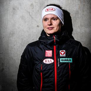 Vanessa Bittner trainiert mit holl�ndischem Team (Bild: GEPA)