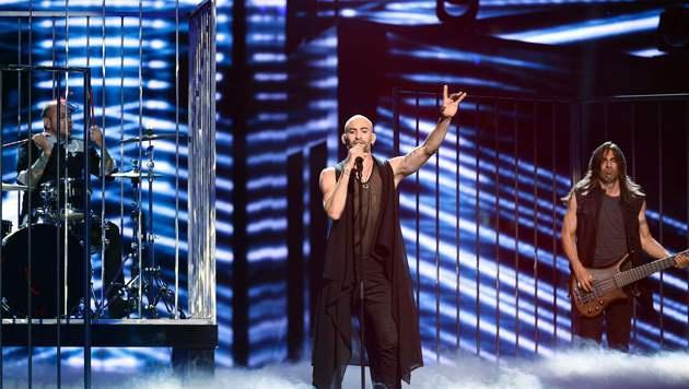 """Minus One treten für Zypern mit """"Alter Ego"""" an. (Bild: APA/AFP/TT News Agency/MAJA SUSLIN/TT)"""