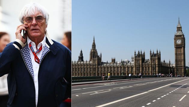 Bernie Ecclestone plant Formel-1-Rennen in London (Bild: GEPA)