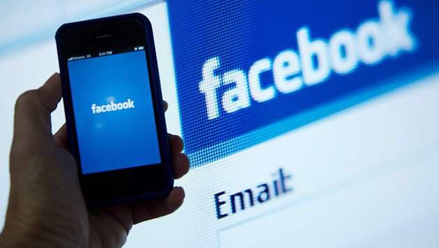 Frankreich verhängt Geldstrafe über Facebook (Bild: AFP)