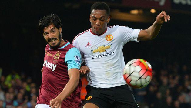 Manchester United verliert bei West Ham 2:3 (Bild: AFP)
