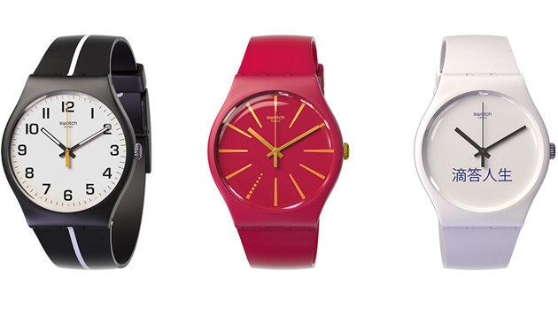 Mit dieser Swatch-Uhr kann man via NFC bezahlen (Bild: Swatch)