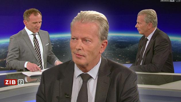 """ÖVP schießt schon jetzt auf den """"Quereinsteiger"""" (Bild: tvthek.orf.at)"""