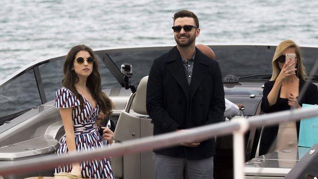 Justin Timberlake schipperte nach Cannes. (Bild: EPA)