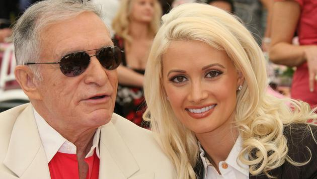 Holly Madison mit Hugh Hefner (Bild: Viennareport)