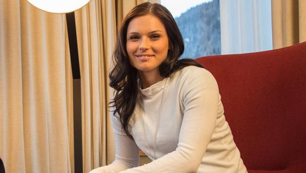 Anna Veith will im Juli auf Ski zurückkehren (Bild: GEPA)