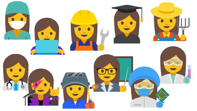 Gleichberechtigung: Emojis sollen weiblich werden (Bild: unicode.org, krone.at-Grafik)