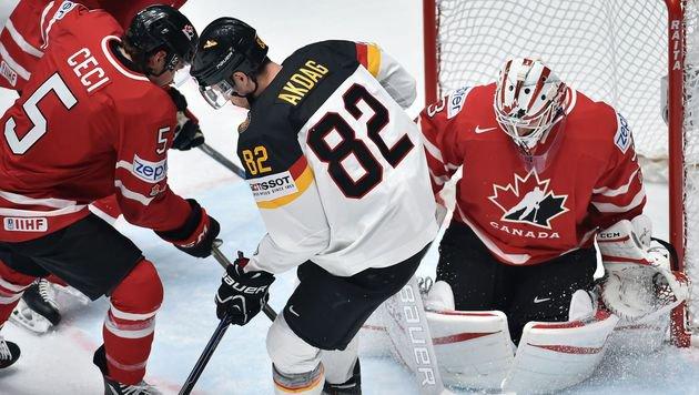 Starke Deutsche ärgern Weltmeister Kanada (Bild: AFP)