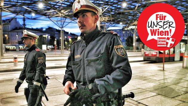 """""""Wir brauchen mehr Polizisten in Zivil"""" (Bild: Reinhard Holl)"""