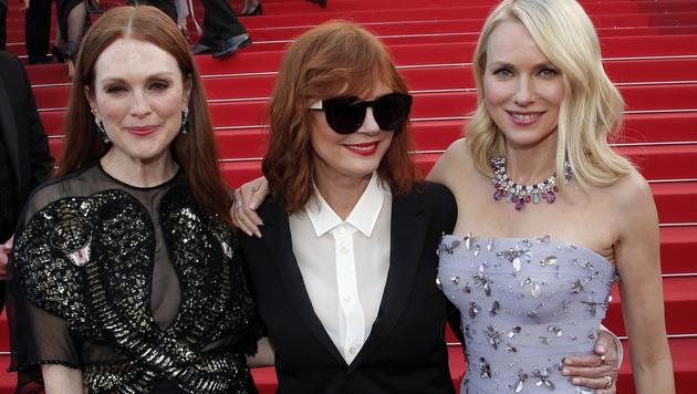 Julianne Moore, Susan Sarandon und Naomi Watts (Bild: AP)