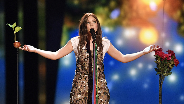 "Francesca Michielin singt für Italien den Song ""No Degree Of Separation"". (Bild: AP)"