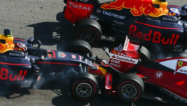 """Vettel verteidigt Kwjat: """"Er hat immerhin Eier"""" (Bild: AP)"""