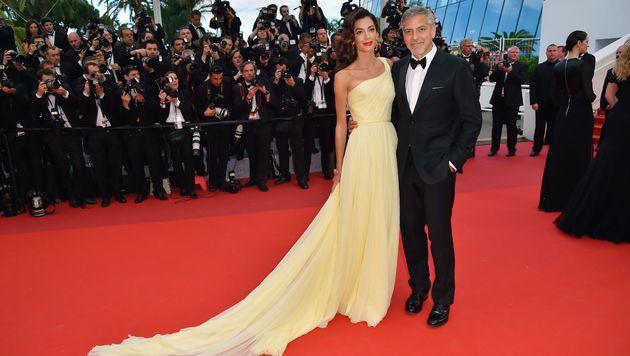 Amal und George Clooney (Bild: AFP)
