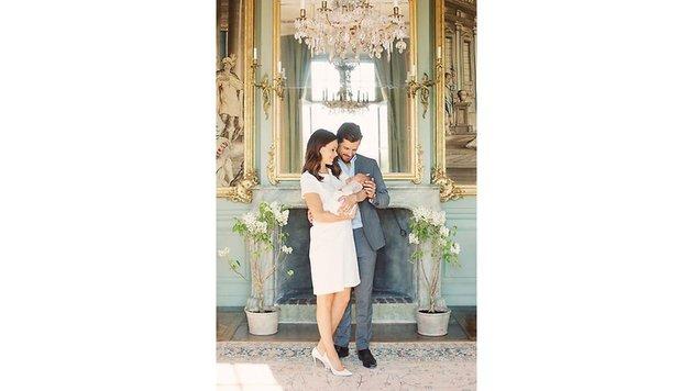 Prinzessin Sofia und Prinz Carl Philip mit Baby Alexannder (Bild: Erika Gerdemark/Kungahuset.se)