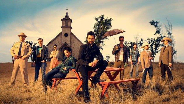 """Die Besetzung von """"Preacher"""" (Bild: AMC)"""