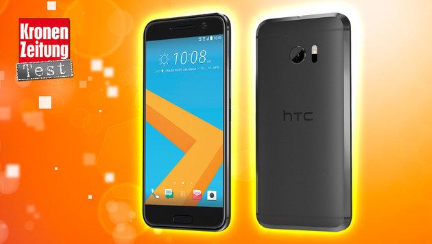 HTC 10: Edel-Smartphone mit Ultrapixel-Cam im Test (Bild: HTC, thinkstockphotos.de, krone.at-Grafik)