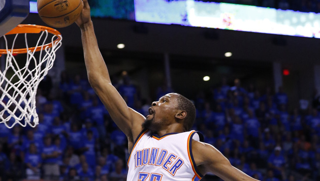 Kevin Durant (Bild: AP)