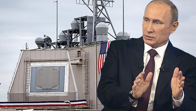"Kremlchef Putin sieht das Raketenabwehrsystem in Rumänien als ""Bedrohung"". (Bild: ASSOCIATED PRESS)"