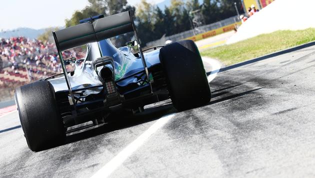 Rosberg Schnellster im zweiten Barcelona-Training (Bild: GEPA)
