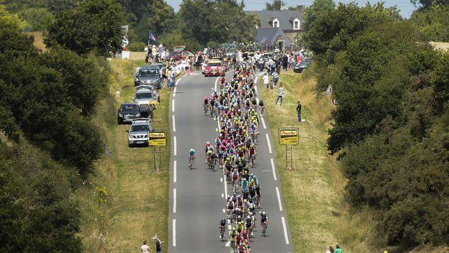 """Schwere Vorwürfe: """"Motor-Doping"""" bei der Tour? (Bild: AFP)"""