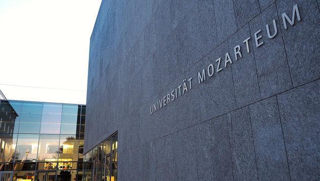 Sexuelle Nötigung: Mozarteum-Rektor verurteilt (Bild: APA/BARBARA GINDL)
