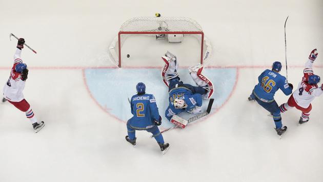 Tschechien nach 5. Sieg erster Viertelfinalist (Bild: AP)