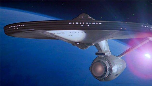 """Diese Enterprise werden wir im neuen """"Star Trek"""" wohl nicht zu Gesicht bekommen. (Bild: CBS Entertainment)"""